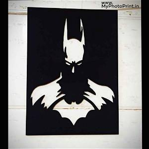 Batman Wooden Wall Decoration