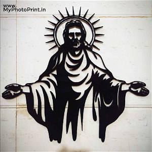 Jesus Christ Wooden Wall Decoration