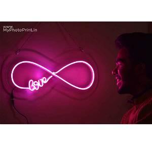 Neon Infinity Love Led Neon Sign Decorative Lights Wall Decor