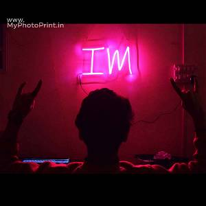 Neon I M Led Neon Sign Decorative Lights Wall Decor