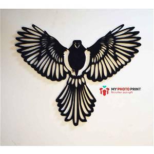 Flying Bird Wooden Wall Decoration