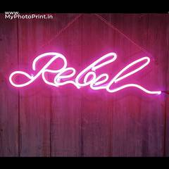 Custom Name Led Neon Sign Decorative Lights Wall Decor | Size Approx 12 inch X 18 inch According to Name 2