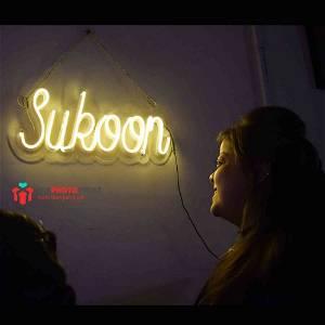 Neon Sukoon Led Neon Sign Decorative Lights Wall Decor