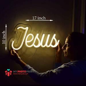 Neon Jesus  Led Neon Sign Decorative Lights Wall Decor