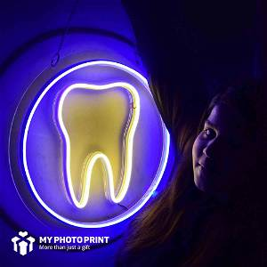Neon Tooth Led Neon Sign Decorative Lights Wall Decor