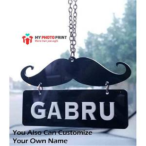 Personalized Name Car Hanging Chain