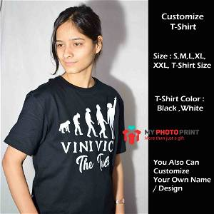 Personalized Name & Message T-Shirt