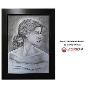 Customized Royal Handmade  Photo 3D Portrait Frame