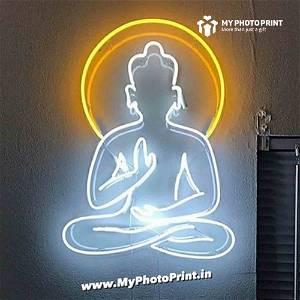 Neon Buddha Led Neon Sign Decorative Lights Wall Decor