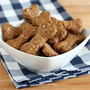Pure Veg Home Made Mega Healthy Dog/Cats Biscuits Cookies Treat