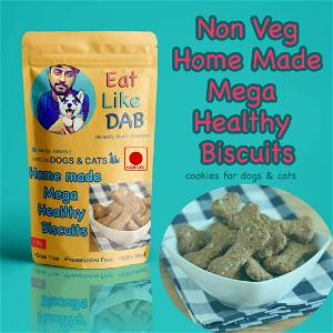 Non-Veg Home Made Mega Healthy Dog/Cats Biscuits Cookies Treat