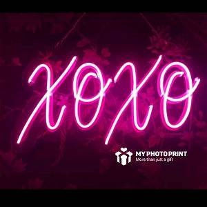Neon XOXO  Led Neon Sign Decorative Lights Wall Decor