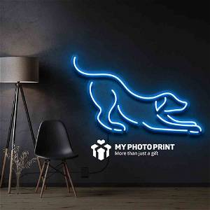 Neon Dog Led Neon Sign Decorative Lights Wall Decor