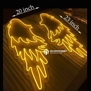 Neon Wings Led Neon Sign Decorative Lights Wall Decor
