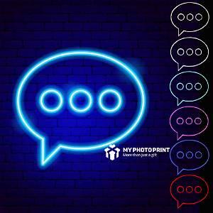 Neon Message Logo Led Neon Sign Decorative Lights Wall Decor