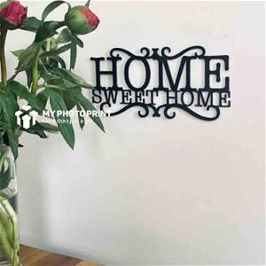 Home Sweet Home Wooden Wall Decoration