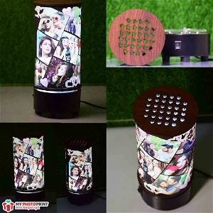 Customized Mini Rotating Light Lamp / you can send photos via WhatsApp also after order or query on whatsapp
