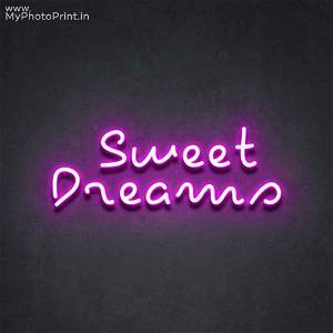 Neon Sweet Dreams Led Neon Sign Decorative Lights Wall Decor