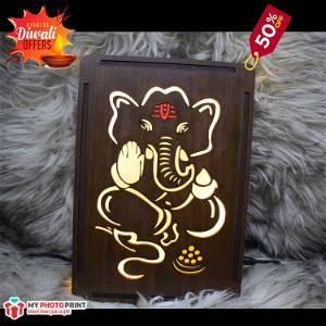 Magical Ganpati Bappa Religious Name Board