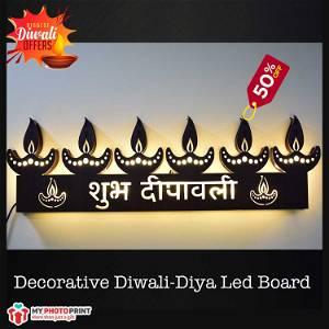 Decorative Diwali-Diya Led Board