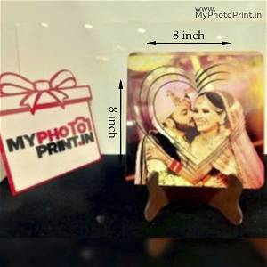 Customized 3D heart With Your Photo