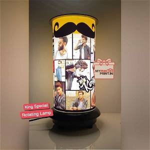 (King) Rotating Lamp Customized / you can send photos via  WhatsApp also after order or query on whatapp