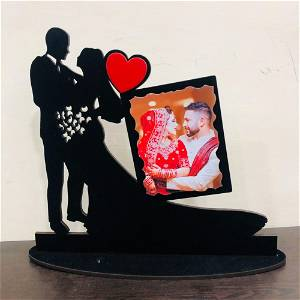 Couple Photo Table Top