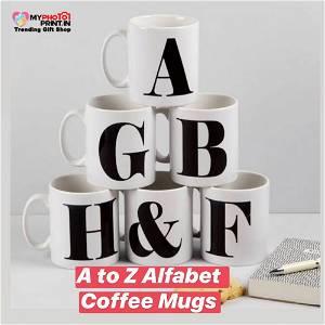 A To Z Alphabet Mug
