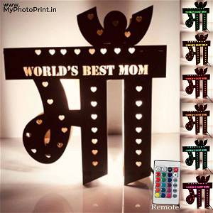 Customized Mom Special  Light Board( Show Your Love ) Multicolor Led and Remote #983