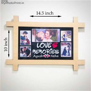 Customized Wooden Loving Memories Wall Frame#988