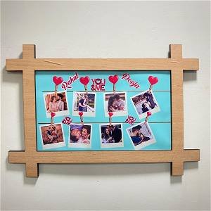 Customized Wooden Loving Memories Wall Frame