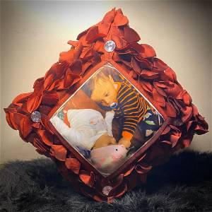 Rose Petal Cushion