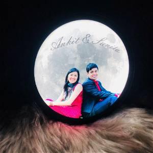 Customized Table Moon lamp