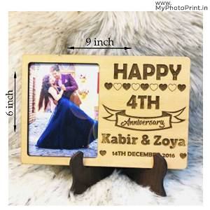 Romantic Personalized Photo Table Top #1013