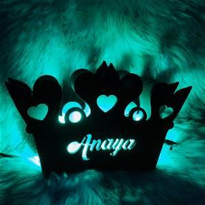 Customized Crown Name Board