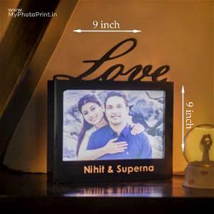 Love Led Frame Box