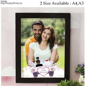 Customized  Wooden Couple Frame