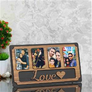 Personalized Wooden love frame