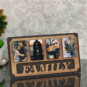 Personalized Wooden Family Frame