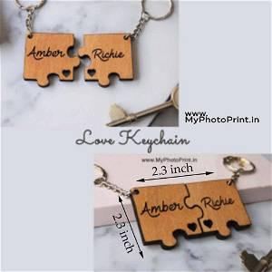 Customized Puzzle Keychain