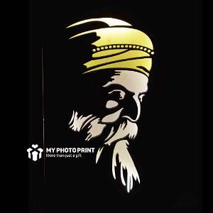 Guru Nanak Dev Ji Religious Name Board