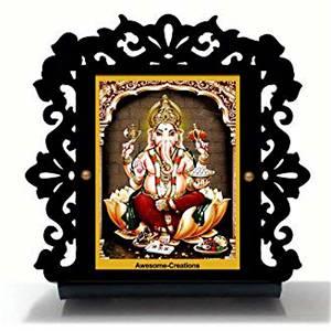 Ganesh ji Car Dashboard
