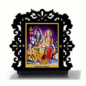 God Shiva Ji ki Family Car Dashboard
