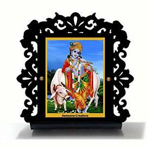 Krishna Kanhaiya Ji Car Dashboard