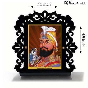 Guru Gobind Singh ji Car Dashboard