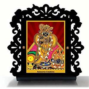 Krishna ji Car Dashboard