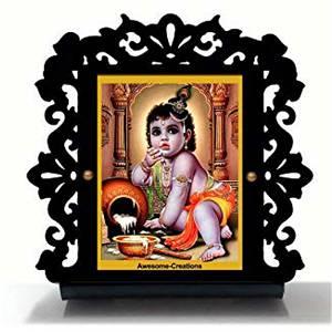 Natkhat Krishna Ji Car Dashboard