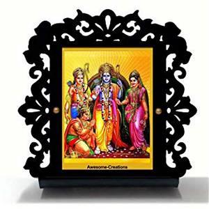 Shri Ram Ji Car Dashboard