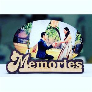 Wooden Table Top For Memories
