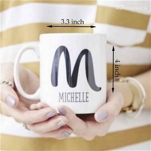 A TO Z Alphabet Name Mug
